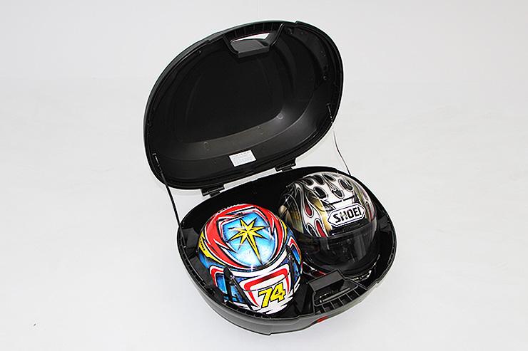 ENDURANCE エンデュランス トップケース・テールボックス BOX用ベースプレート(アルミ)+リアボックスセット ディオ110