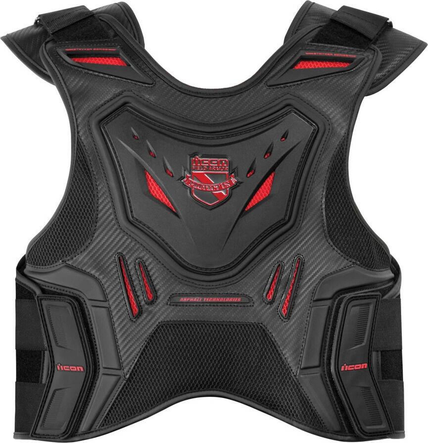 ICON アイコン 胸部プロテクターチェストガード・ブレストガード STRYKER VEST ARMOR ストライカー・ベスト・アーマー サイズ:L/XL