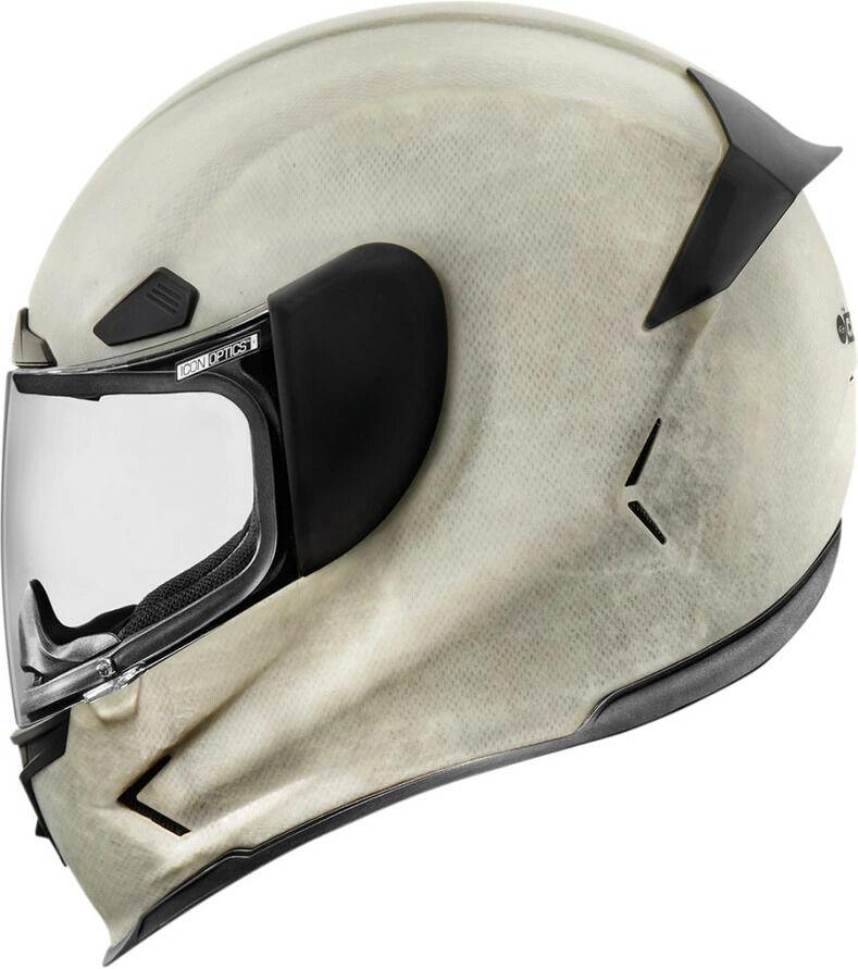 ICON アイコン フルフェイスヘルメット AIRFRAME PRO CONSTRUCT HELMET [エアフレーム プロ・コンストラクト・ヘルメット]【ホワイト】 サイズ:M(57-58cm)