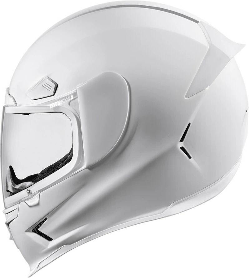 ICON アイコン フルフェイスヘルメット AIRFRAME PRO GLOSS HELMET [エアフレーム プロ・グロス・ヘルメット]【ホワイト】 サイズ:L(59-60cm)