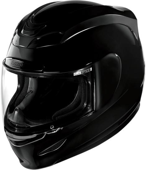 ICON アイコン フルフェイスヘルメット AIRMADA GLOSS HELMET [エアマーダ・グロス・ヘルメット]【BLACK】 サイズ:XXS(51-52cm)