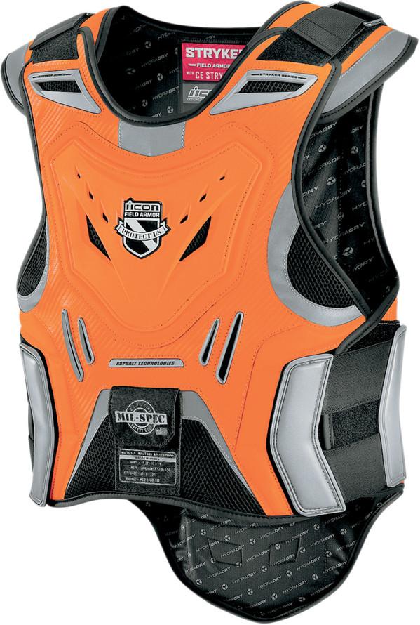 ICON アイコン 胸部プロテクターチェストガード・ブレストガード STRYKER VEST ARMOR ストライカー・ベスト・アーマー サイズ:2X/3X