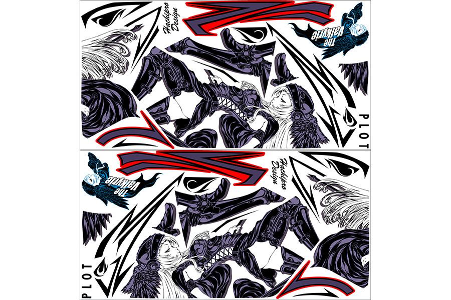 【ポイント5倍開催中!!】【クーポンが使える!】 PLOT プロト ステッカー・デカール デカールキット ヴァルキリー カラー:ホワイト CBR250R (2011-)