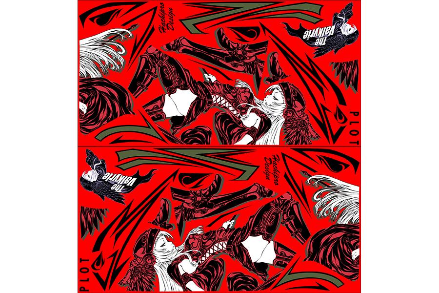 【ポイント5倍開催中!!】【クーポンが使える!】 PLOT プロト ステッカー・デカール デカールキット ヴァルキリー カラー:レッド CBR250R (2011-)