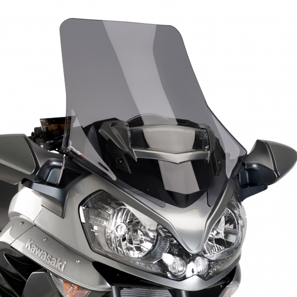 Puig プーチ ツーリングスクリーン カラー:ダークスモーク 1400GTR