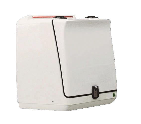 T`s PRODUCTS ティーズプロダクト トップケース・テールボックス スタンダードトランク ワイヤーラック(仕切り板):なし 鍵のタイプ:専用キーロック(C型) ギアルーフ