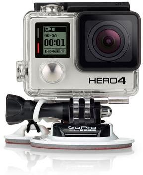 ゴープロ オンボードカメラ GoPro HERO4 ブラック サーフィン
