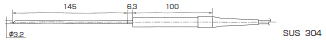 CUSTOM カスタム その他 CUSTOM、計測ツール カスタム CT-800WP専用防水センサー, 相生市:b37752fa --- arvoreazul.com.br