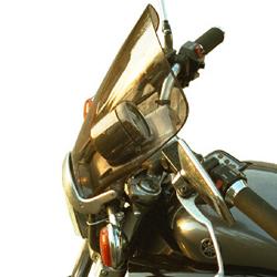 SECDEM セクデム スクリーン スタンダード・ウインドシールド カラー:ライトスモーク VMAX 1200