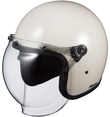 【在庫あり】OGK KABUTO オージーケーカブト ジェットヘルメット ROCK [ロック オフホワイト] ヘルメット