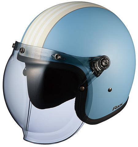 OGK KABUTO オージーケーカブト ジェットヘルメット ROCK G1 [ロック・G1 フラットブルーアイボリー] ヘルメット