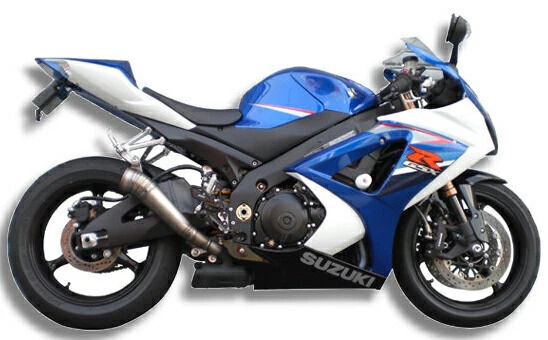 アサヒナレーシング ASAHINA RACING エグテック GPスタイル メガフォン スリップオンマフラー 2本出し サイレンサーステー:なし バッフル:あり GSX-R1000