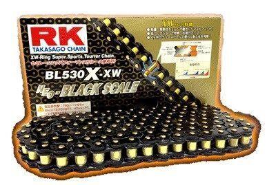 RK アールケー BLブラックスケールシリーズチェーン BL525X-XW