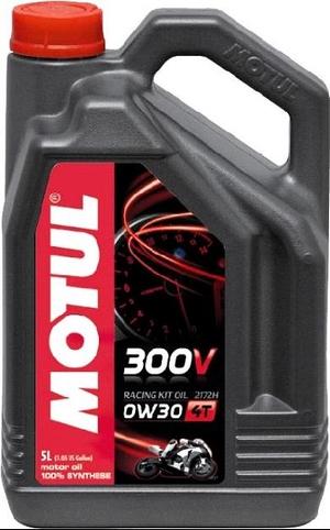 【在庫あり】MOTUL モチュール 300V RACING キット OIL 2172H(300V レーシング キット オイル)【0W30】【5L】【4サイクルオイル】