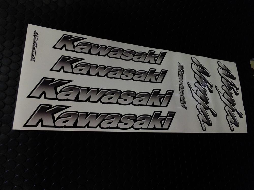 Auto Magic オートマジック Kawasaki&Ninjaエンブレムセット