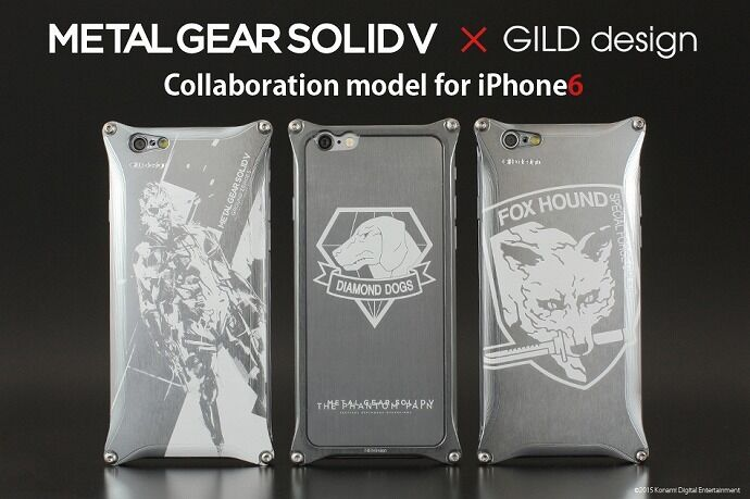 GILD design ギルドデザイン METAL GEAR SOLID V [メタルギアソリッド] for iPhone6/6s