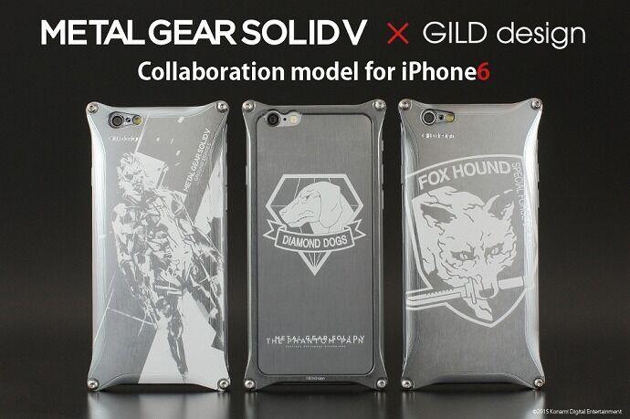 GILD design ギルドデザイン スマートフォンケース METAL GEAR SOLID V [メタルギアソリッド] for iPhone6/6s タイプ:Snake Ver.(スネイク) [商品コード:GIKO-240MG2]