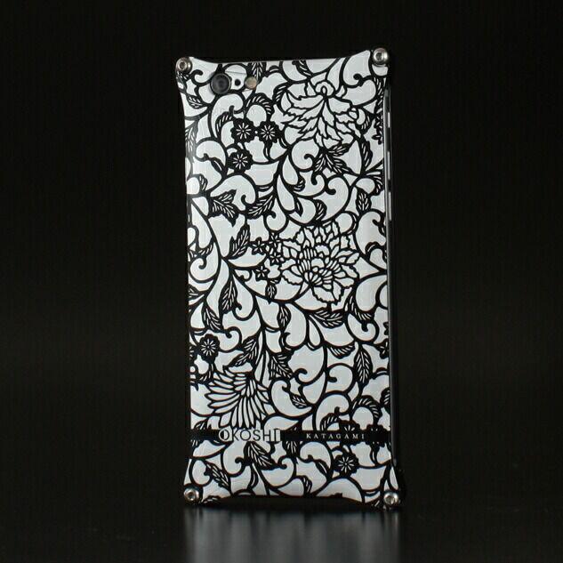 【ポイント5倍開催中!!】GILD design ギルドデザイン スマートフォンケース OKOSHI-KATAGAMI [オコシカタガミ] 【アラベスク】 for iPhone6/6s カラー:ブラック [商品コード:GOK-240AB]