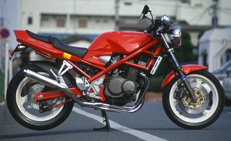 アールピーエム RPM-4in2in1フルエキゾーストマフラー サイレンサーカバー:ステンレス バンディット400