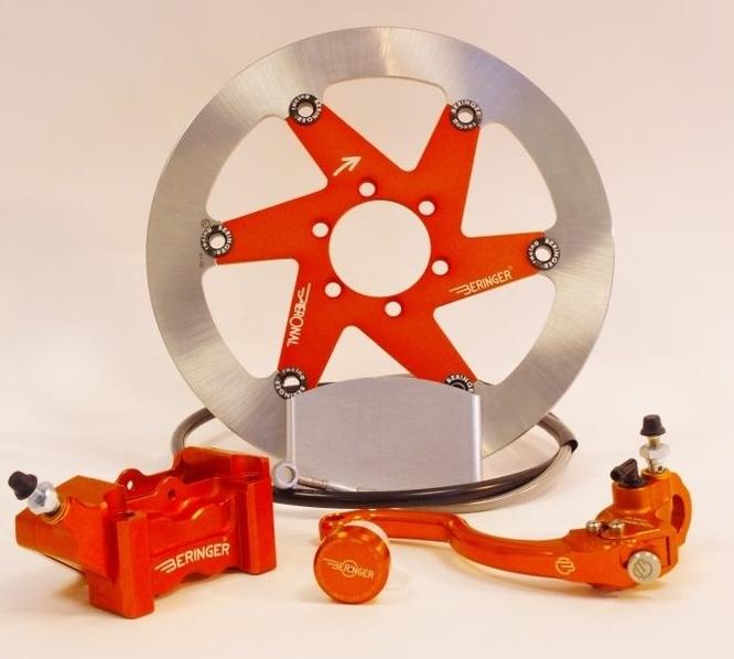 BERINGER ベルリンガー ディスクローター AERONAL DISC (エアロナルディスク) ステンレスローター カラー:チタン