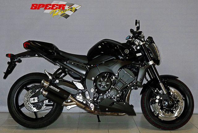 BODIS ボディス スリップオンマフラー ステンレス ブラック GPX2 FZ1