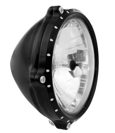 RSD Roland Sands Design ローランドサンズ TRACKER ヘッドライト (コントラストカット) 汎用 3|4インチの幅のマウントの車両