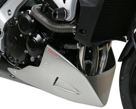BARRACUDA バラクーダ エンジンスポイラー アンダーカウル カラー:シャイニーブラック GSR600 GSR750