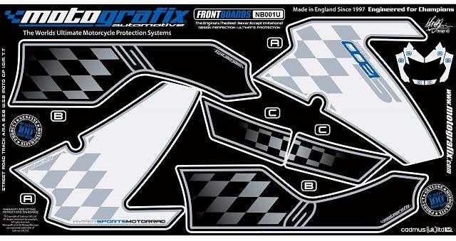 【ポイント5倍開催中!!】MOTOGRAFIX モトグラフィックス ステッカー・デカール ボディーパッド K1200R K1200S