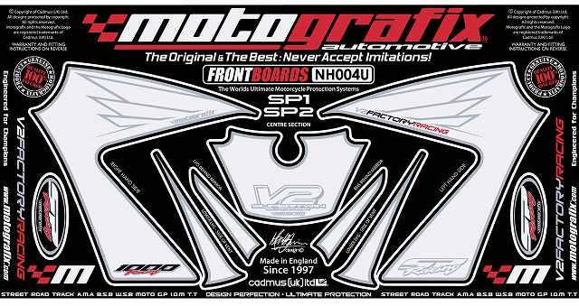 【ポイント5倍開催中!!】MOTOGRAFIX モトグラフィックス ステッカー・デカール ボディーパッド VTR1000SP-1 VTR1000SP-2