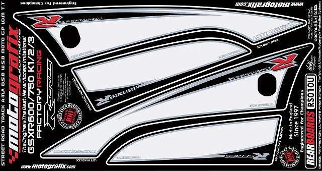MOTOGRAFIX モトグラフィックス ステッカー・デカール ボディーパッド GSX-R750