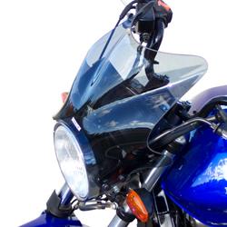 SECDEM セクデム スクリーン ミレニアム・ウインドシールド カラー:グレースモーク CBF500 CBF600