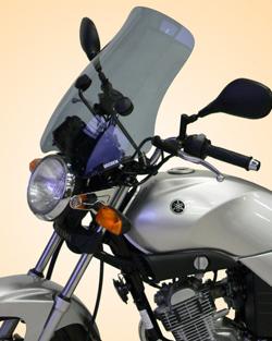 SECDEM セクデム スクリーン ファントム・ウインドシールド カラー:グレースモーク YBR125
