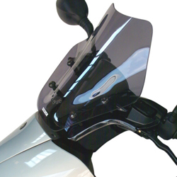 SECDEM セクデム スクリーン レーシング・ウインドシールド カラー:グレースモーク MAJESTY125 [マジェスティ] EU