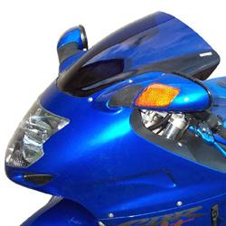 SECDEM セクデム ダブルバブル・スクリーン カラー:グレースモーク CBR1100XX SUPERBLACKBIRD [スーパーブラックバード]