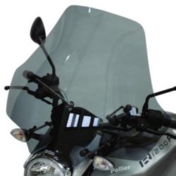 SECDEM セクデム ユーロスクリーン2・ウインドシールド カラー:グレースモーク R1200R