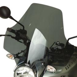 SECDEM セクデム ユーロスクリーン1・ウインドシールド カラー:グレースモーク R1200R