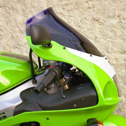 SECDEM セクデム ハイプロテクション・スクリーン カラー:グレースモーク ZX-7R