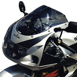 SRAD ダブルバブル・スクリーン GSX-R600 セクデム SECDEM カラー:グレースモーク