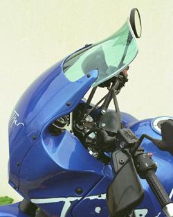 SECDEM セクデム ハイプロテクション・スクリーン カラー:グレースモーク TIGER900 [タイガー] 95-98
