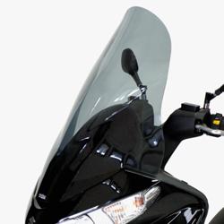SECDEM セクデム スクリーン ハイプロテクション・ウインドシールド カラー:グレースモーク BURGMAN125[バーグマン]07-10