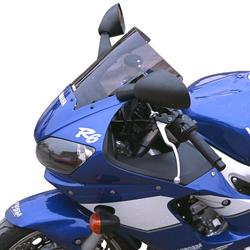 SECDEM セクデム スタンダード・スクリーン カラー:グレースモーク YZF-R6