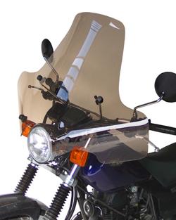 SECDEM セクデム スクリーン プルマン・ウインドシールド カラー:ライトスモーク TW125