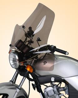 SECDEM セクデム スクリーン プルマン・ウインドシールド カラー:ライトスモーク YBR125