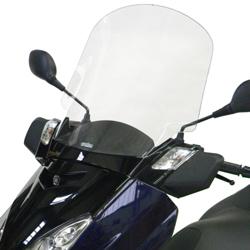 SECDEM セクデム スクリーン ハイプロテクション・ウインドシールド カラー:ライトスモーク 125 Xmax 06-09