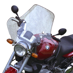 SECDEM セクデム スクリーン プルマン・ウインドシールド カラー:ライトスモーク R1100R R850R