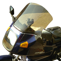 SECDEM セクデム スクリーン スタンダード・ウインドシールド カラー:ライトスモーク R100RT basculante -80 R80RT basculante -80