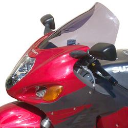 SECDEM セクデム GT・スクリーン カラー:クリア GSX1300R HAYABUSA [ハヤブサ] HAYABUSA