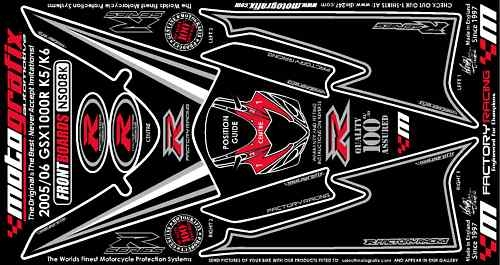 MOTOGRAFIX モトグラフィックス ステッカー・デカール ボディーパッド GSX-R1000 K5-K6
