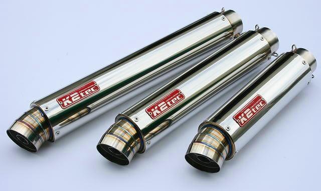 【送料無料】マフラー K2TEC ケイツーテック gpsm1-42s6h6  K2TEC ケイツーテック バッフル・消音装置 GPスタイル STDサイレンサー M1 60.5/P60 スプリングフックタイプ