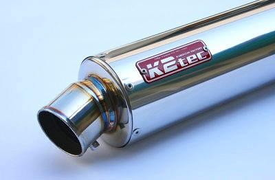 K2TEC ケイツーテック バッフル・消音装置 GPスタイル STDチタンサイレンサー S6 50.8/P50 バンド止めタイプ